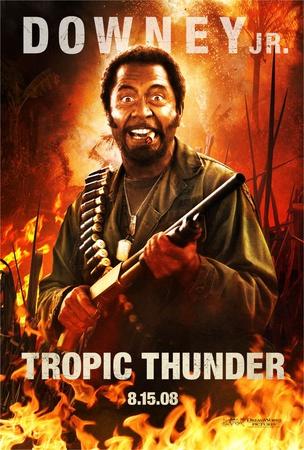 Tropic Thunder (Robert Downey Jr.) Movie Poster Photo