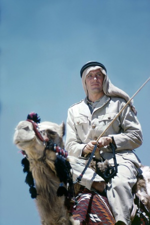 Lawrence of Arabia, 1962, Directed by David Lean Peter O'Toole Photo