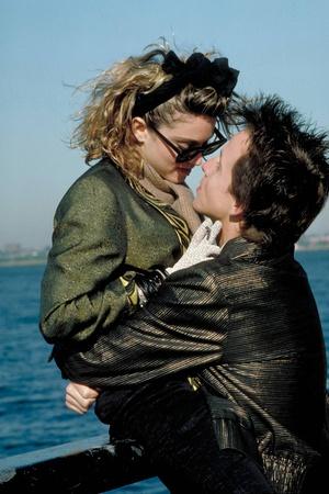 Desperately Seeking Susan 1985 Directed by Susan Seidelman Madonna and Aidan Quinn Photo