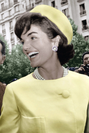 Jackie Kennedy a Paris Photo