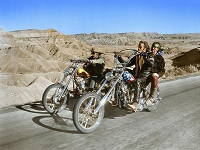 Easy Rider, Dennis Hopper, Peter Fonda, 1969 Photo