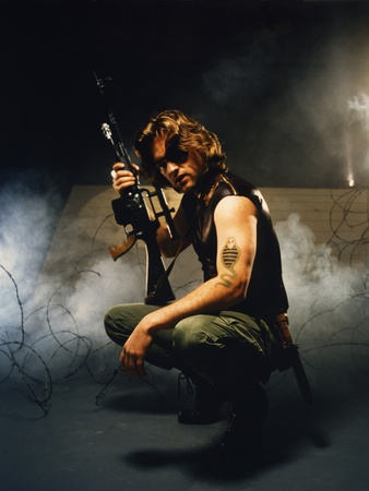 Escape from New York 1981 Directed by John Carpenter Kurt Russell Photo