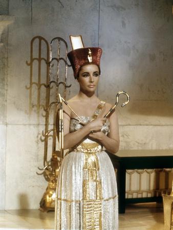 Cleopatra 1963 Directed by Joseph L. Mankiewicz Elizabeth Taylor Photo