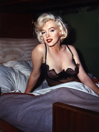 Some Like it Hot 1959 Directed by Billy Wilder Marilyn Monroe Photo