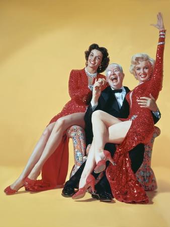 Gentlemen Prefer Blondes, Directed by Howard Hawks, 1953 Photo