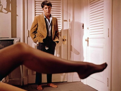 The Graduate, Dustin Hoffman, Directed by Mike Nichols, 1968 Photo