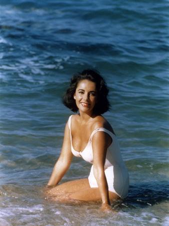 Suddenly Last Summer 1959 Directed by Joseph L. Mankiewicz Elizabeth Taylor Photo