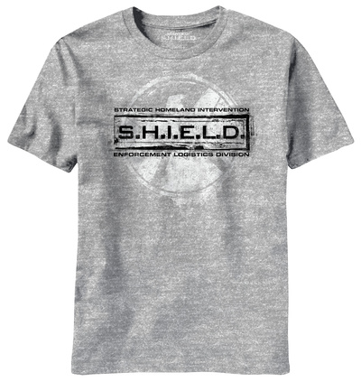 Agents of S.H.I.E.L.D. - Grunged Stamp T-Shirt