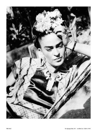 portrait of frida kahlo kunst p. Black Bedroom Furniture Sets. Home Design Ideas
