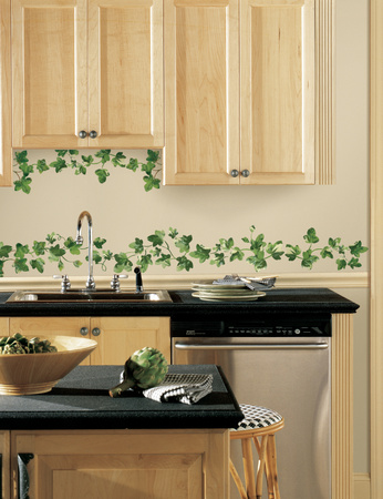 Painterly Ivy Peel and Stick Wall Decals Wall Decal