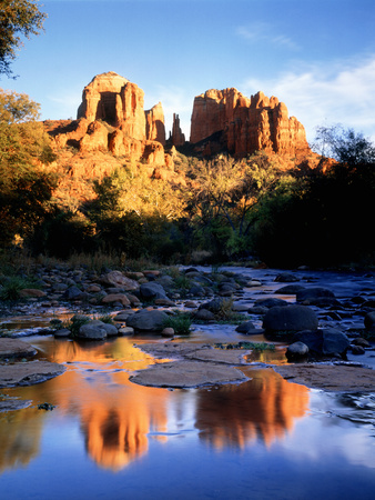 Cathedral Rock Sedona AZ USA Photographic Print by Green Light Collection
