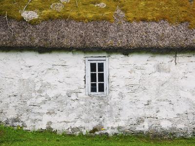 Old Farm Building at Mihkli Farm Museum, Viki, Saaremaa Island, Estonia Photographic Print by Green Light Collection