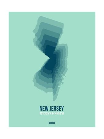 New Jersey Radiant Map 2 Art by  NaxArt