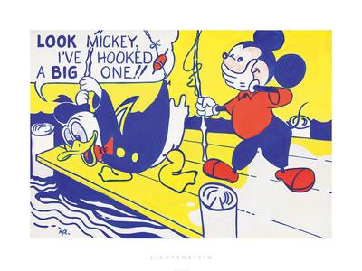 Look Mickey, 1961 Photographic Print by Roy Lichtenstein