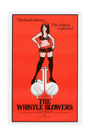 THE WHISTLE BLOWERS, US poster, 1973 Posters