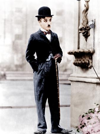 City Lights, Charlie Chaplin, 1931 Foto