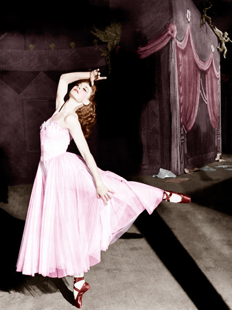 THE RED SHOES, Moira Shearer, 1948. Photo
