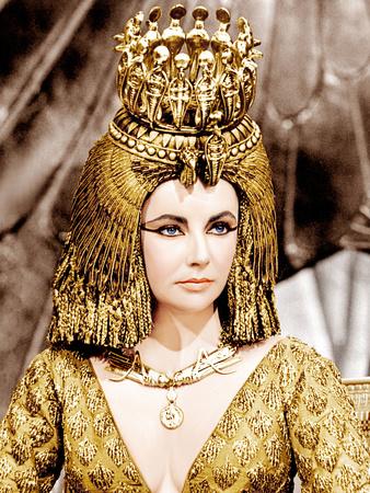 Cleopatra, Elizabeth Taylor, 1963 Photo