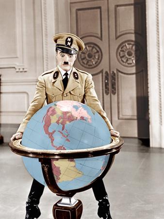 The Great Dictator, Charles Chaplin, 1940 Photo
