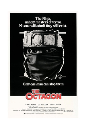 THE OCTAGON, US poster, Chuck Norris, 1980. © American Cinema Releasing/courtesy Everett Collection Poster
