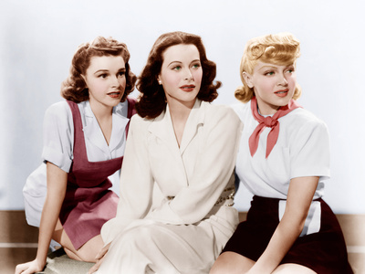 ZIEGFELD GIRL, from left: Judy Garland, Hedy Lamarr, Lana Turner, 1941 Photo