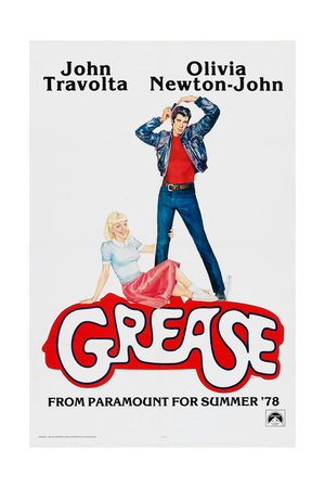 Grease, John Travolta, Olivia Newton-John, 1978, © Paramount Pictures/courtesy Everett Collection Prints