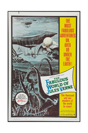 THE FABULOUS WORLD OF JULES VERNE, 1958 Prints