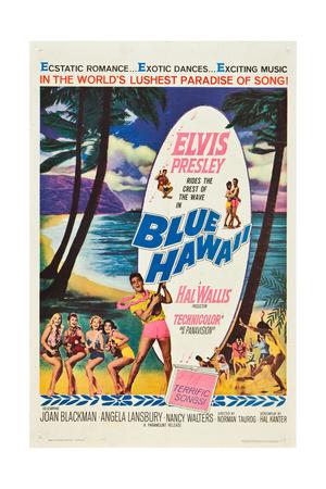 Blue Hawaii, Elvis Presley, 1961 Prints