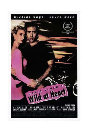WILD AT HEART, Nicolas Cage, Laura Dern, 1990. © Samuel Goldwyn Company/courtesy Everett Collection Posters