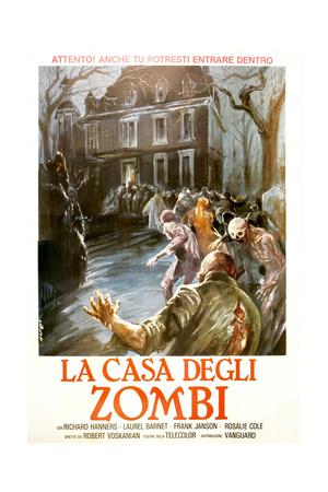 THE CHILD, (aka LA CASA DEGLI ZOMBI), Italian poster, 1977 Posters
