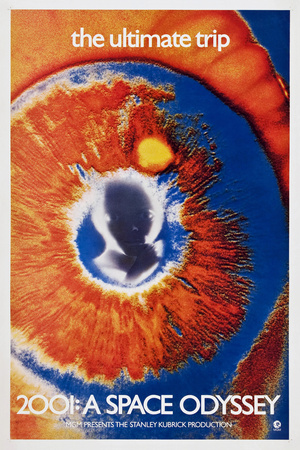 2001: A SPACE ODYSSEY, poster, 1968 Prints