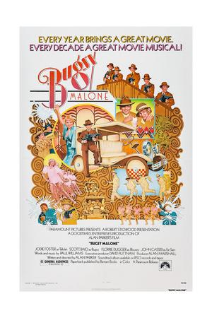 Bugsy Malone, Jodie Foster, Scott Baio, 1976 Posters
