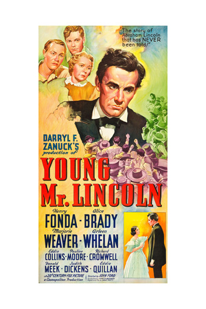 YOUNG MR. LINCOLN Posters