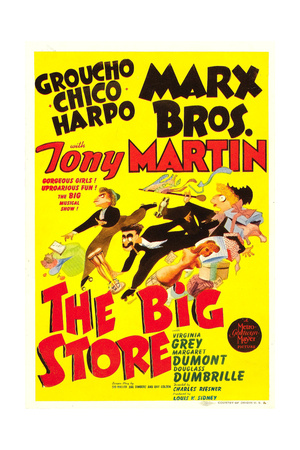 THE BIG STORE Posters