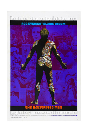 THE ILLUSTRATED MAN, US poster, 1969 Prints