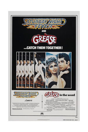 SATURDAY NIGHT FEVER 1977, GREASE Art