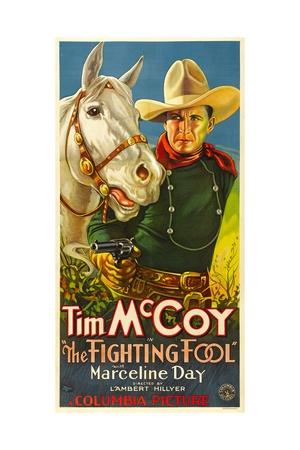 THE FIGHTING FOOL, Tim McCoy, 1932 Prints