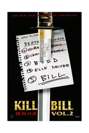Kill Bill: Vol. 2, US Poster, 2004. © Miramax/courtesy Everett Collection Posters