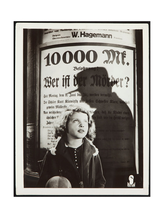M, (aka M - EINE STADT SUCHT EINEN MORDER), Inge Landgut, 1931. Prints