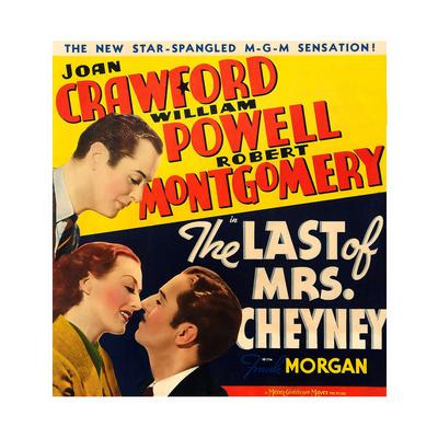 THE LAST OF MRS. CHEYNEY Art