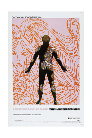 THE ILLUSTRATED MAN, US poster, 1969 Posters
