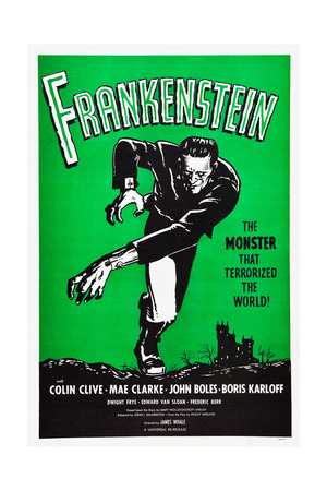 Frankenstein, Boris Karloff, 1931 Prints