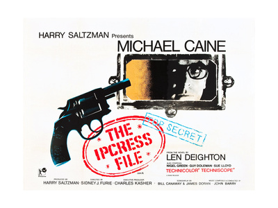 THE IPCRESS FILE, Michael Caine, 1965 Posters