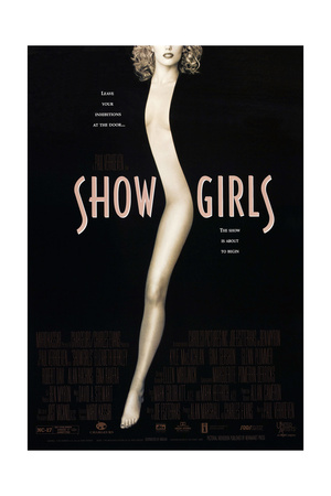 SHOWGIRLS, US poster, Elizabeth Berkley, 1995. © United Artists/courtesy Everett Collection Posters