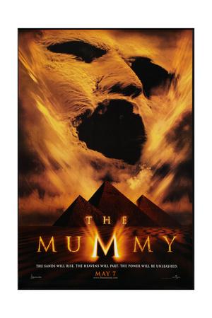 THE MUMMY, advance poster art, 1999 Posters