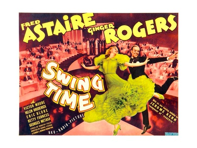 Swing Time, Ginger Rogers, Fred Astaire, 1936 Art