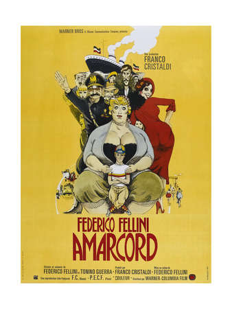 Amarcord, French poster, 1973 Print
