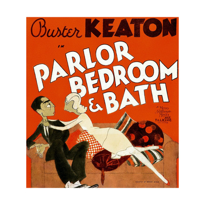 Parlor, Bedroom and Bath, Buster Keaton, Charlotte Greenwood, 1931 Prints