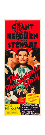 THE PHILADELPHIA STORY, Cary Grant, Katharine Hepburn, James Stewart, 1940. Prints