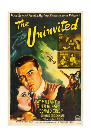 THE UNINVITED, Gail Russell, Ray Milland, 1994. Prints